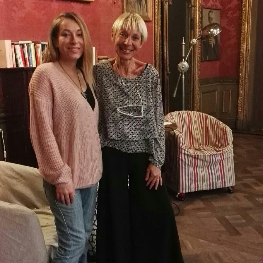 Maria Concetta Distefano con editor V. Trucco